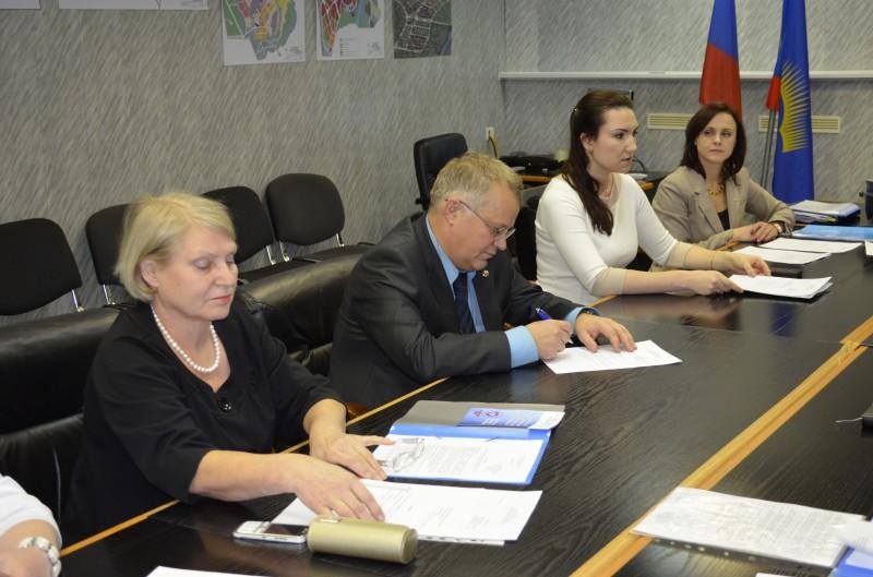 Первое заседание попечительского совета Благотворительного Фонда «Полярный Свет»